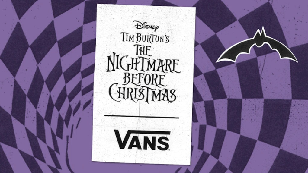 Where To Get The Vans x 'Nightmare Before Christmas