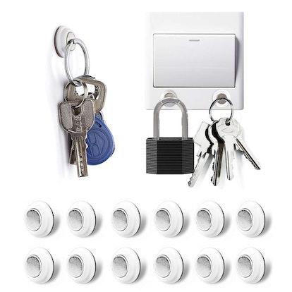 Tescat Magnetic Key Holder (12-Pack)