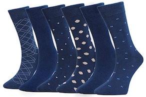 FortCotton Men's Dress Socks (6-Pack)