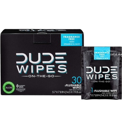 Dude Products Wet Wipes