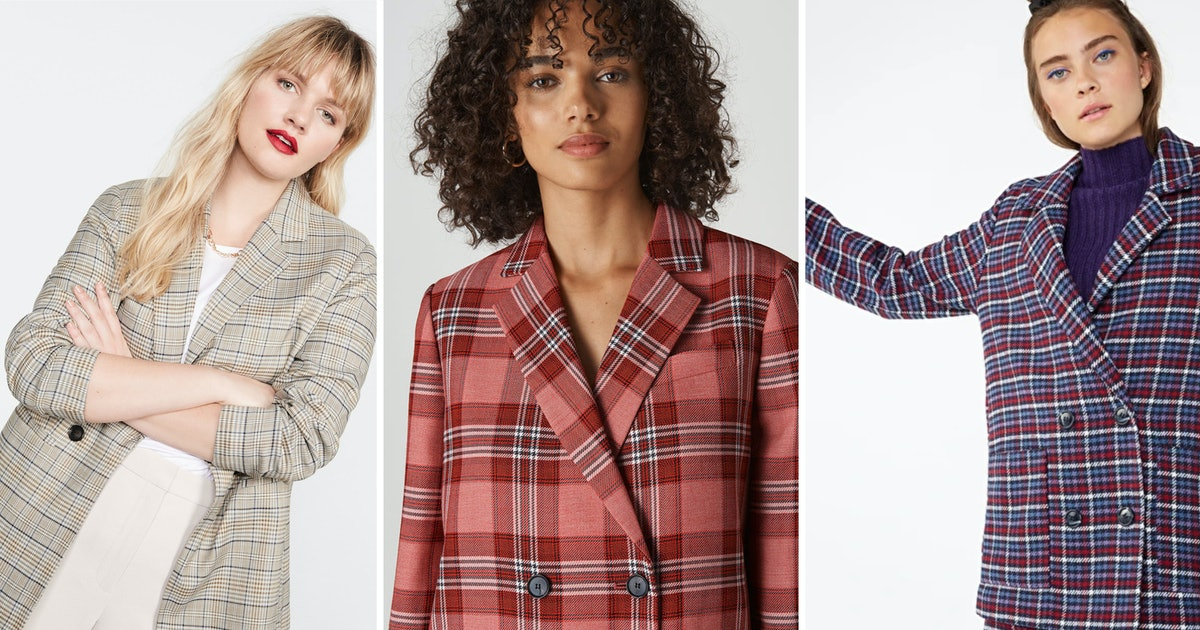 11 Checked Blazers That Are Guaranteed To Jazz Up Your Work Wardrobe