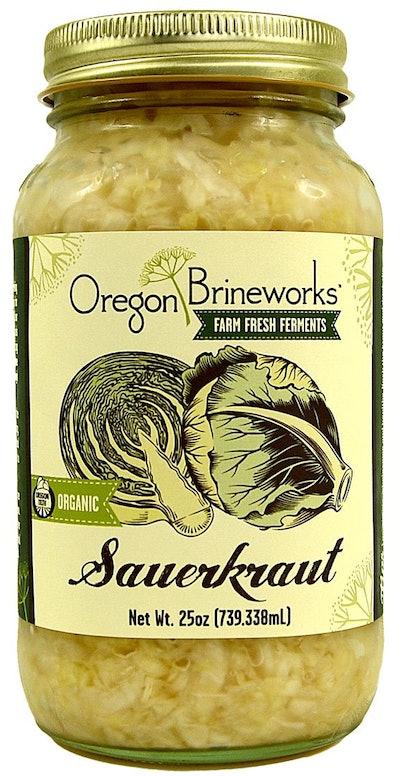 Oregon Brineworks Organic Sauerkraut (25 Oz)