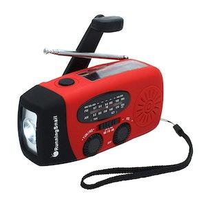 RunningSnail Emergency Hand Crank Self Powered Radio