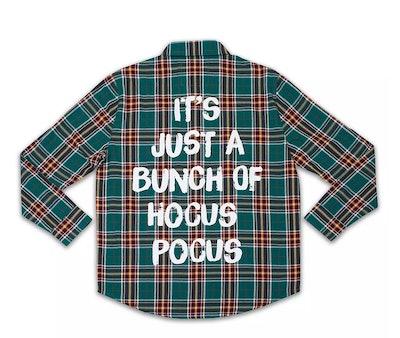 """""""Hocus Pocus"""" Hocus Pocus flannel"""