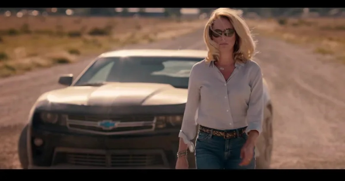 Valerie Plame shades Dick Cheney in a political ad that's basically an action movie