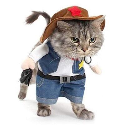 NACOCO Cowboy Cat Costume
