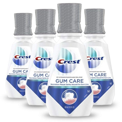 Crest Gum Care Mouthwash, Cool Wintergreen (4-Pack)