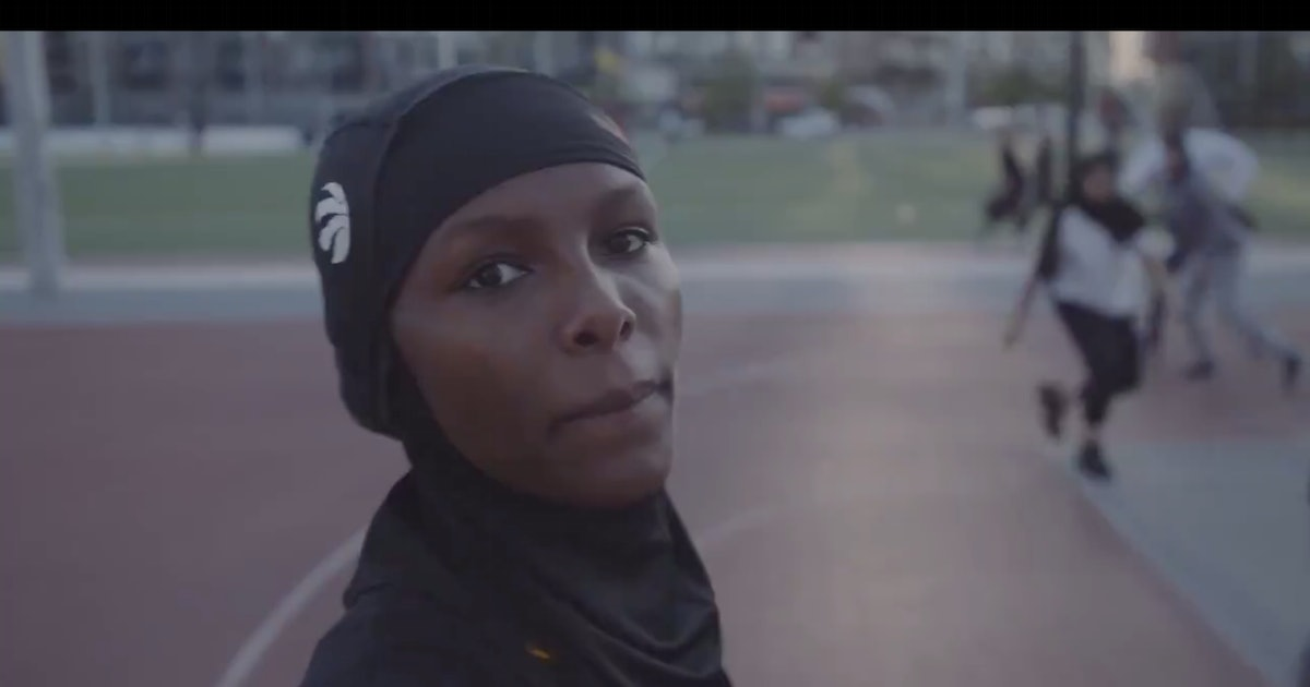The Toronto Raptors debuted the NBA's first branded hijab for Muslim fans
