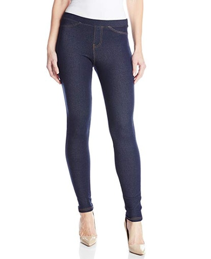 No nonsense Denim Leggings With Pockets