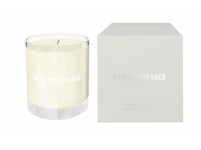 KKW Fragrance Candle in Crystal Gardenia