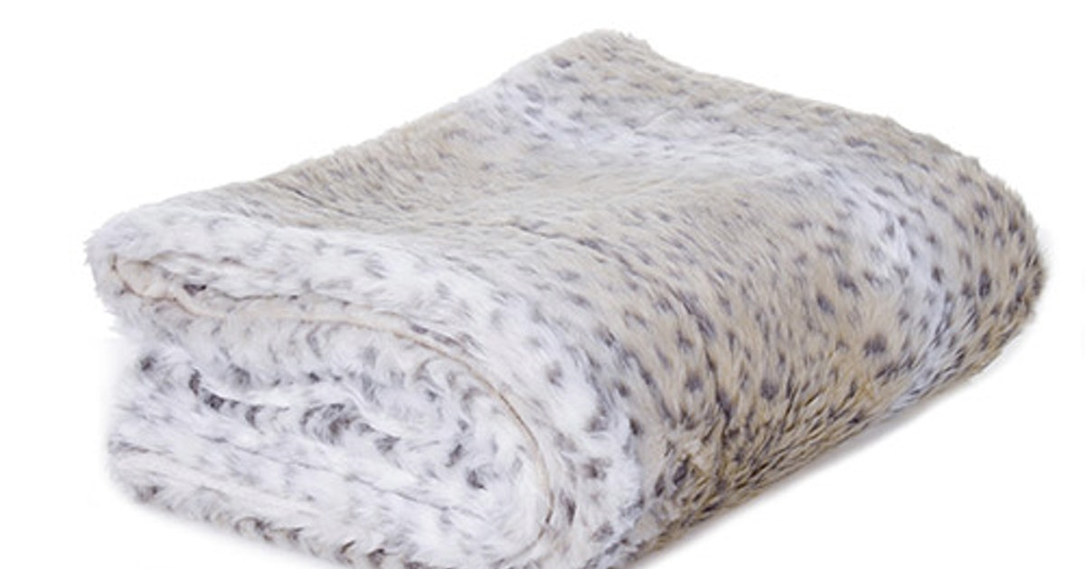10 Faux Fur Decor Accents Under $40 That Will Warm Up Your Space Instantly
