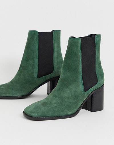 Asos Design Suede Booties