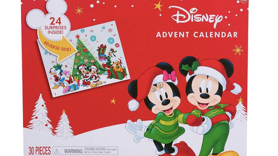 Christmas 2019 Calendar.Disney Mickey Mouse Advent Calendar