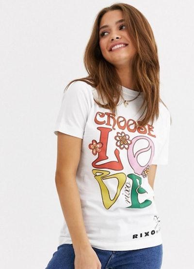 Rixo Choose Love T-Shirt