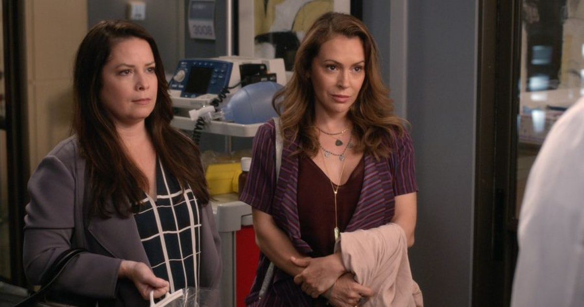 'Grey's Anatomy' Is Staging A 'Charmed' Reunion With Alyssa Milano & Holly Marie Combs