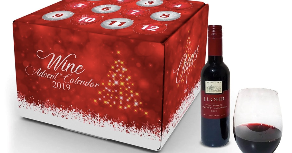 this wine advent calendar for 2019 will give you a boozy. Black Bedroom Furniture Sets. Home Design Ideas