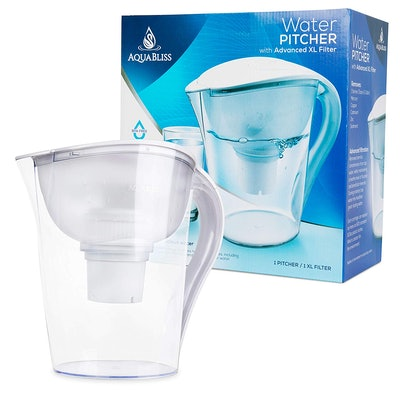 AquaBliss 10-Cup Water Filter Pitcher