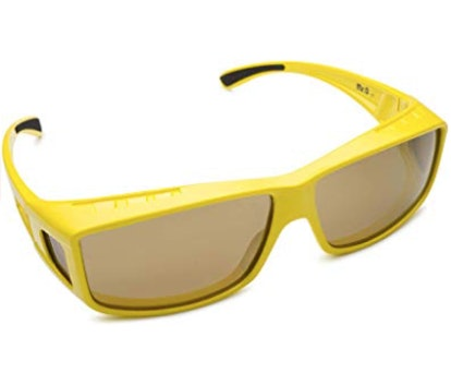 Fitover Polarized Sunglasses in Stylish Yellow