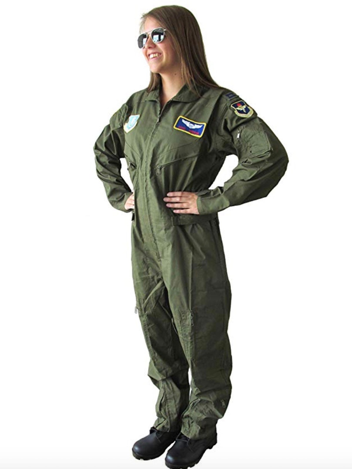 Military Uniform Supply Carol Danvers Air Force Costume - Carol Danvers Cosplay Flight Suit
