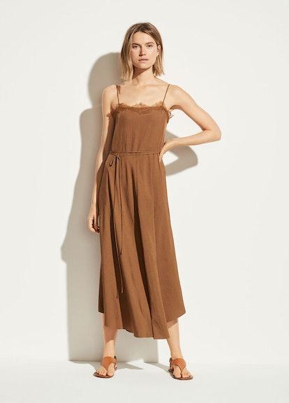 Lace Trim Cami Dress