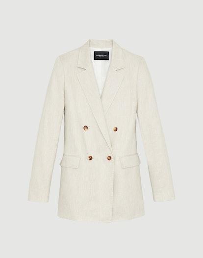 Plus-Size Bespoke Weave Britton Jacket