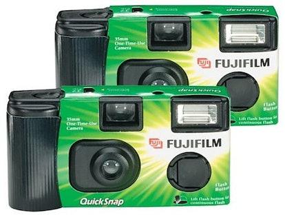 Fujifilm Quicksnap Flash 400 Single-Use Camera with Flash (4-Pack)