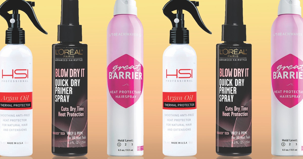 The 5 Best Heat Protectants For Hair