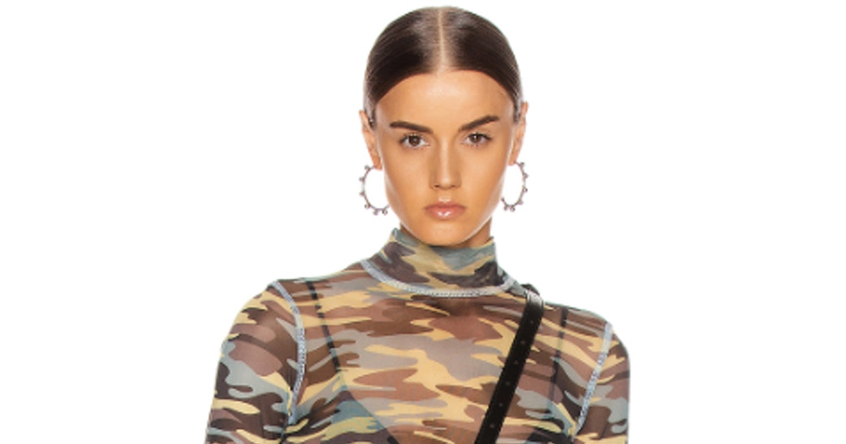 Why Fall 2019's Camouflage Fashion Trend Is Being Endorsed By Major Designers