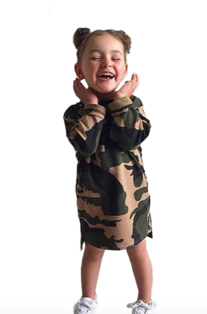 Baby Girl Camouflage Dress