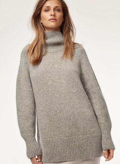 Day Off Oversized Turtleneck Sweater