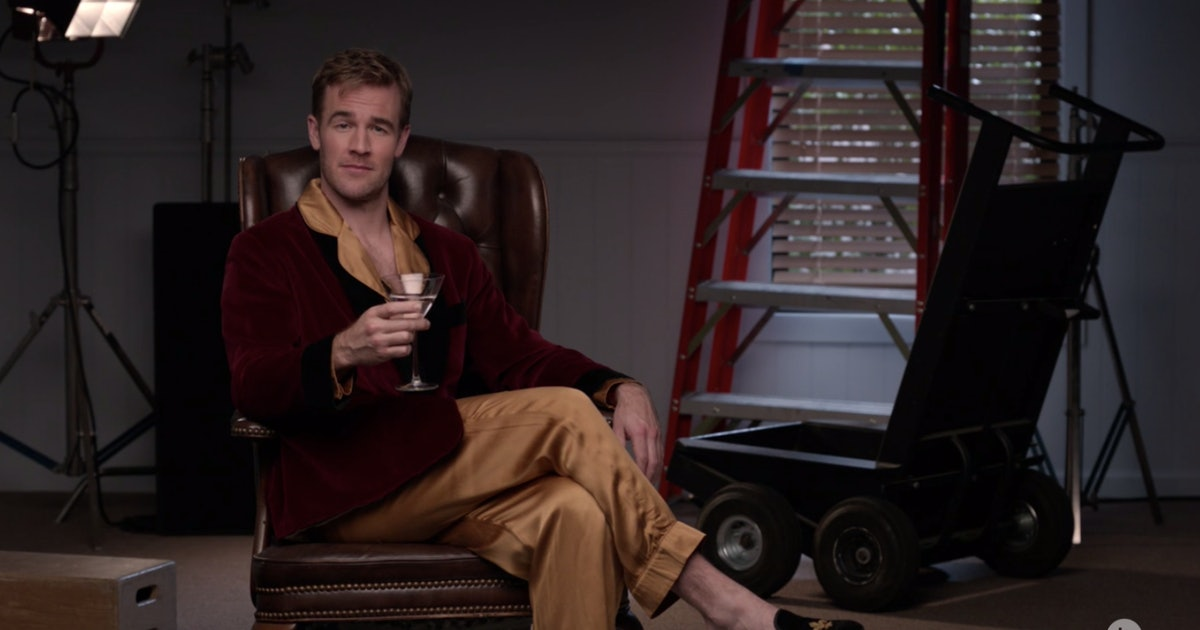 James Van Der Beek Is On 'Dancing With The Stars' Season 28 — But This Isn't His First Time On The Show