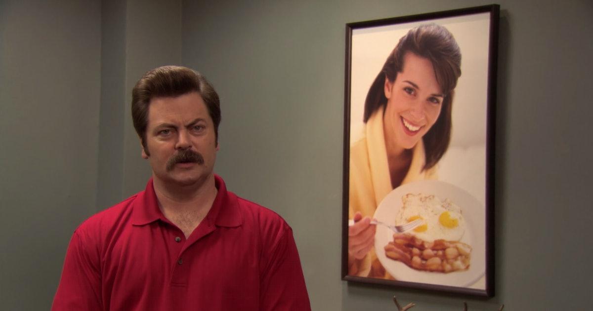 Nick Offerman's 'Parks & Rec' Reunion Is Ron Swanson's Dream Come True — PHOTOS