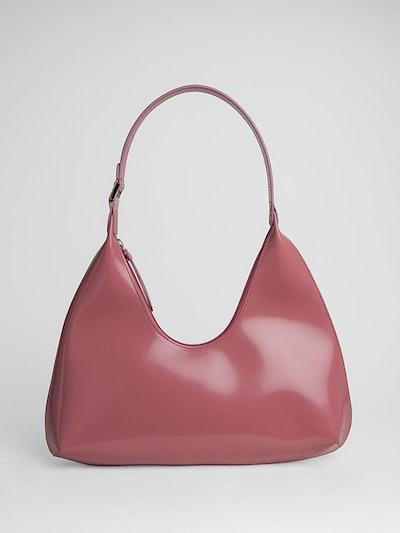 Amber Pink Semi Patent Leather