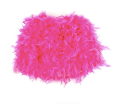 Hot Pink Feather Skirt