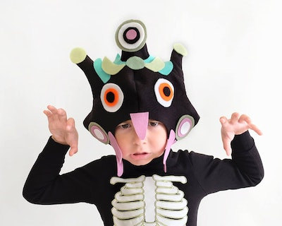 Monster Pattern DIY Costume Mask