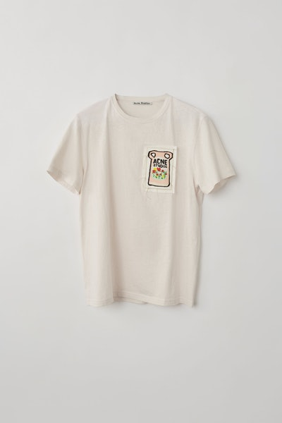 Ceramic-Patch T-Shirt Pale Pink