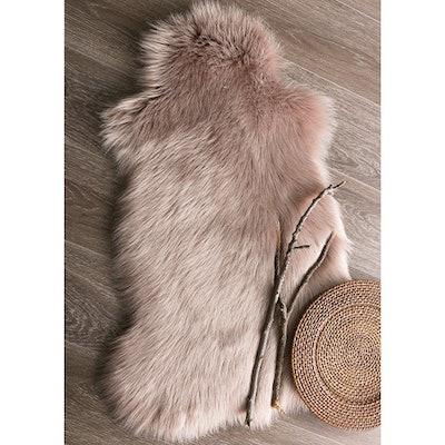 Ashler Soft Faux Sheepskin Fur