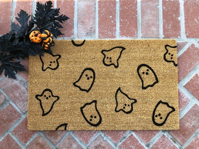 Halloween Ghost Doormat