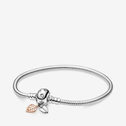 Pandora Moments Leaves & Snakes Chain Bracelet