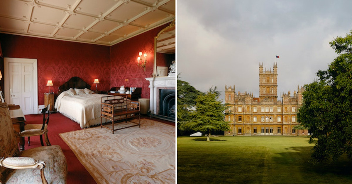 'Downton Abbey's Highclere Castle Is Now On Airbnb For An Exclusive Night