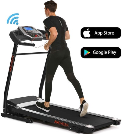 ANCHEER Folding Treadmill For Home