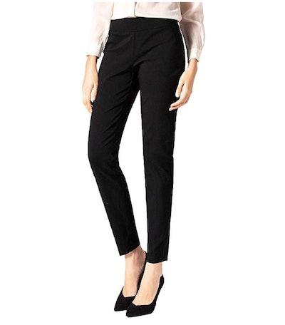 SATINATO Women's Straight Stretch Pants