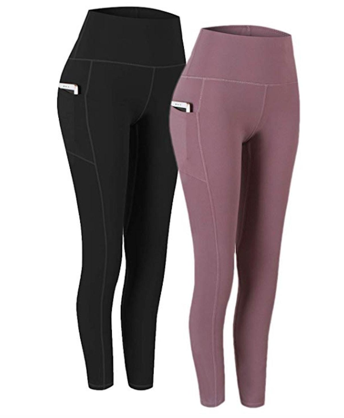 Fengbay High Waist Yoga Pants (2-Pack)