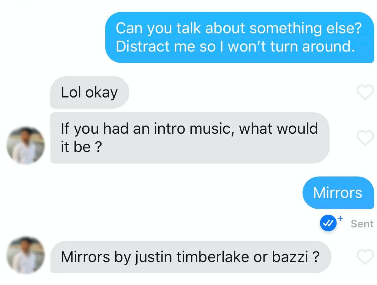 Sending Twilight quotes to Tinder matches is fun for Halloween.
