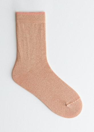 Glitter Ankle Sock