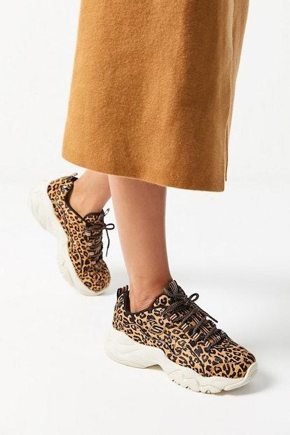 Skechers UO Exclusive D-Lite 3 Leopard Sneaker