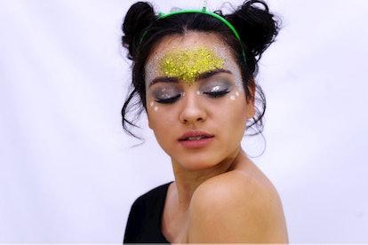 Alien Costume Cosmetic Glitter Kit
