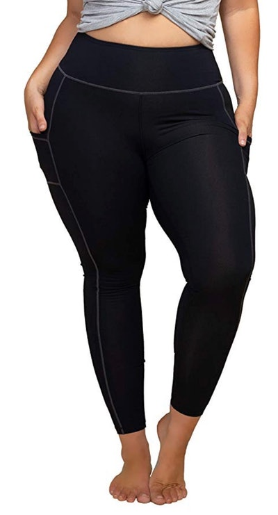 KQUZO Women's Plus Size Compression Leggings