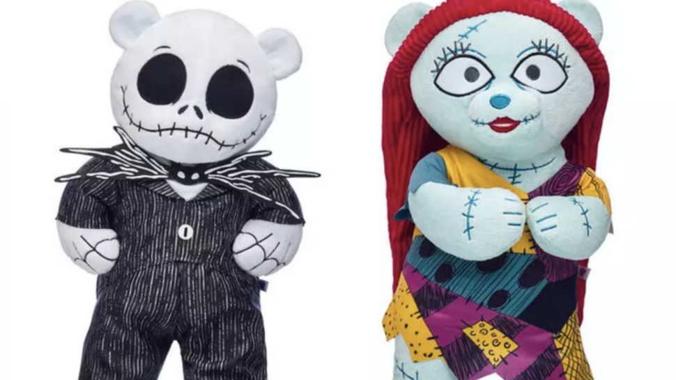 Build A Bear Christmas 2019.Build A Bear S Nightmare Before Christmas Collection