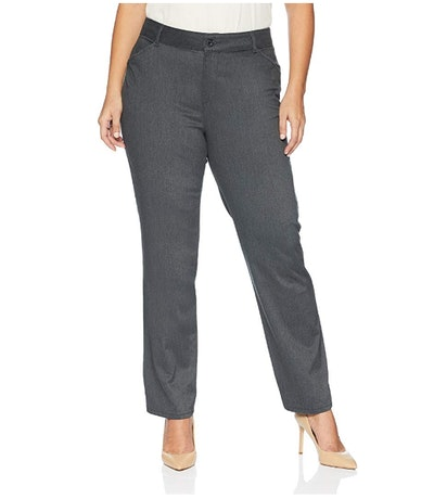 Lee Women's Plus-Size Relaxed-Fit All-Day Straight-Leg Pant